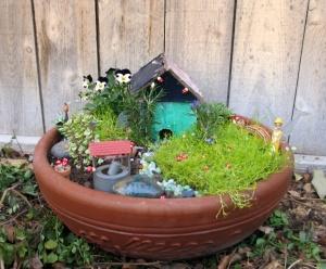 This is my fairy garden.